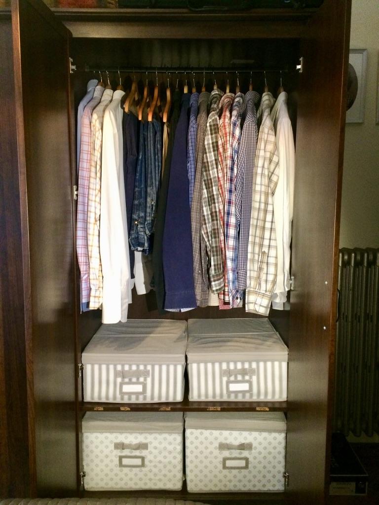 C mo ordenar el armario de tu marido sin tocarlo mrs - Como ordenar tu armario ...